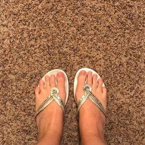Guess Silver Dress Sandals